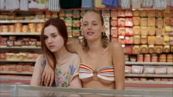 Bijou Phillips nude bush Rachel Miner nude bush - Bully (2001) HD 1080p (9)