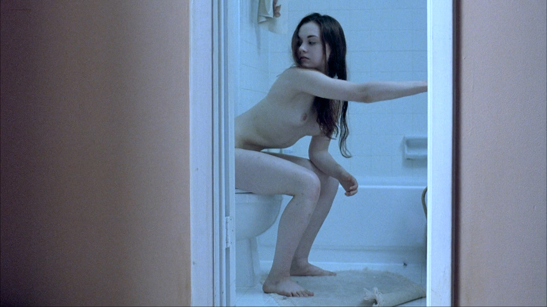 Bijou Phillips nude bush Rachel Miner nude bush - Bully (2001) HD 1080p (