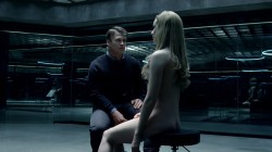 Evan Rachel Wood nude topless and butt Angela Sarafyan nude topless - Westworld (2016) s1e1 HD 1080p (14)