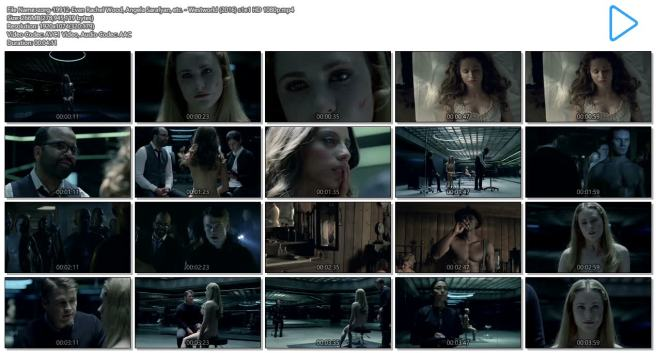 Evan Rachel Wood nude topless and butt Angela Sarafyan nude topless - Westworld (2016) s1e1 HD 1080p (13)
