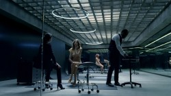 Evan Rachel Wood nude topless and butt Angela Sarafyan nude topless - Westworld (2016) s1e1 HD 1080p (6)