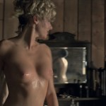 Evan Rachel Wood nude topless and butt Angela Sarafyan nude topless – Westworld (2016) s1e1 HD 1080p