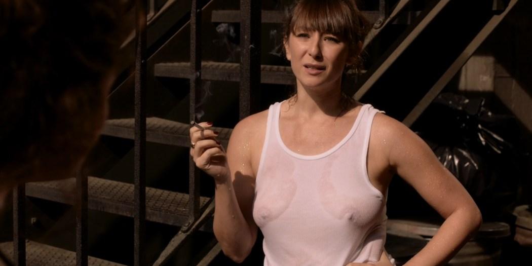 Isidora Goreshter see through and wet and Shanola Hampton hot - Shameless (2016) s7e4 HD 1080p (2)