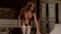 Jacqueline Dupré nude bush, Marina Hedman nude full frontal fellatio other's nude too - La Bimba di Satana (1982) (8)