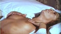 Jacqueline Dupré nude bush, Marina Hedman nude full frontal fellatio other's nude too - La Bimba di Satana (1982) (7)
