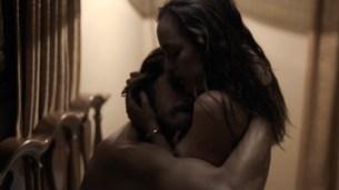 Jodi Balfour nude topless some sex - Quarry (2016) s1e5 HD 720p (2)