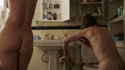Sandra Hinojosa nude topless, Alyssa LeBlanc and Arden Myrin nude too - Shameless (2016) s7e2 HD 1080p (16)