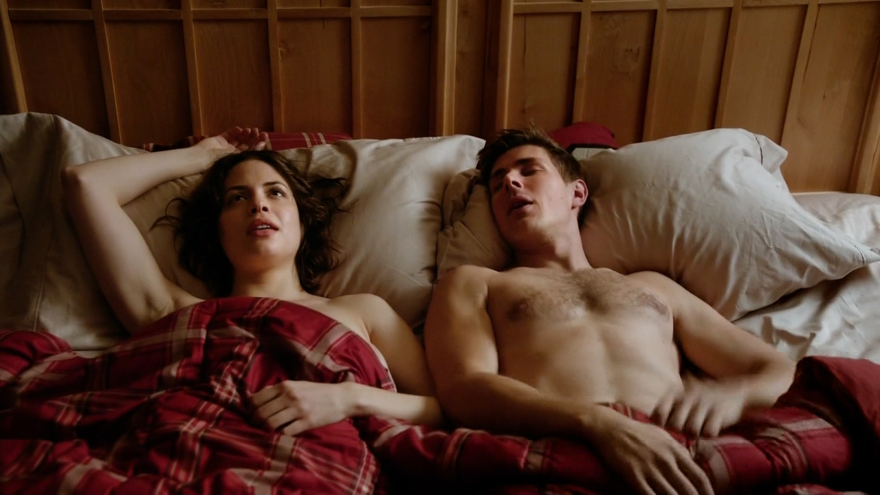 Conor Leslie nude topless and hot sex - Graves (2016) s1e7 HD 720p (2)