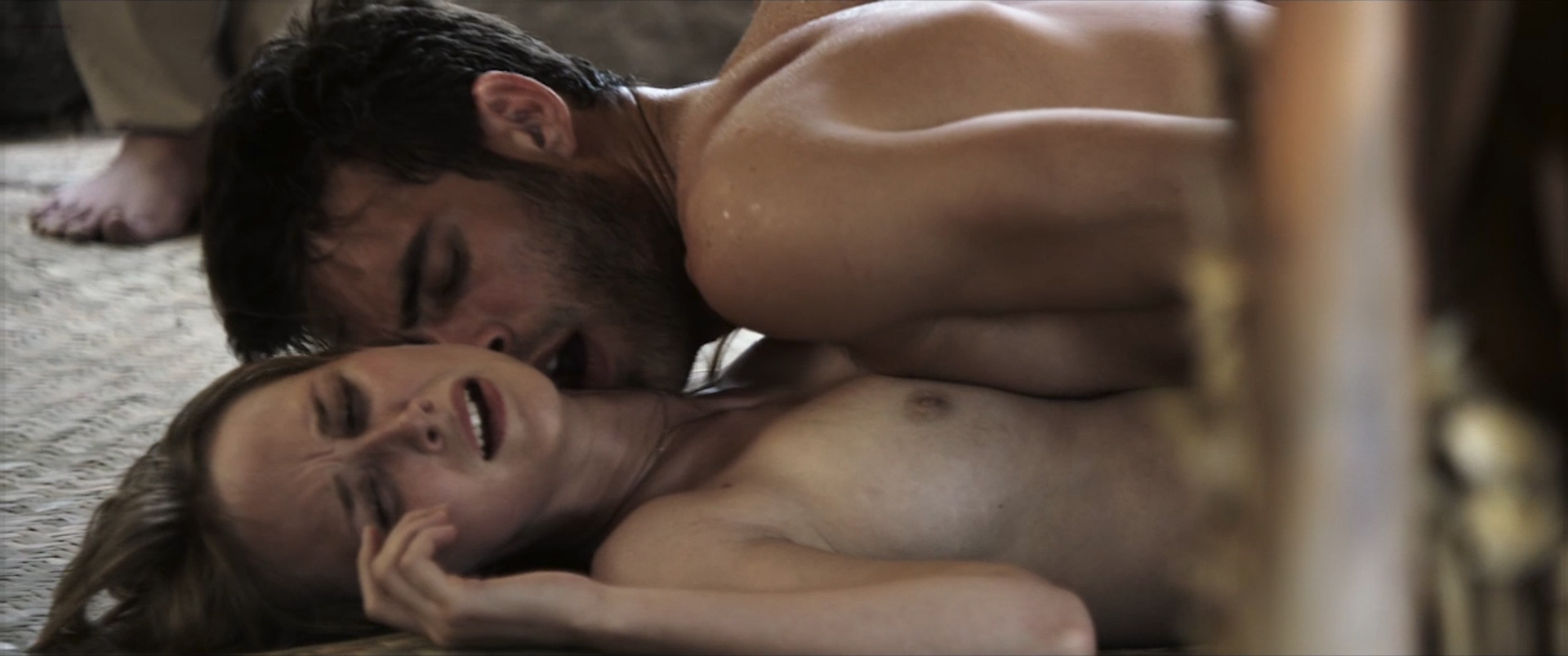 Ingrid García Jonsson nude topless and sex and Juana Acosta nude butt - Acantilado (2016) HD 1080p WebDl (1)