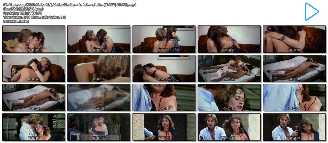 Marisa Mell nude bush and sex and Marina Giordana nude topless - La belva col mitra (IT-1977) HD 720p (10)