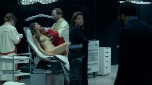 Thandie Newton nude bush and boobs Angela Sarafyan nude and Tessa Thompson butt naked - Westworld (2016) s01e07 HD 1080p (13)