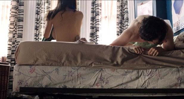 Alexandra Daddario hot and busty and Nicole Rutigliano, Janie Lynn lingerie - Baked in Brooklyn (2016) HD 1080p (15)