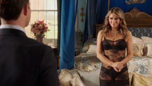 Elizabeth Hurley hot and sexy in lingerie - The Royals (2016) s3e1HD 1080p