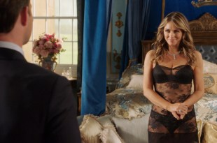 Elizabeth Hurley hot and sexy in lingerie – The Royals (2016) s3e1HD 1080p