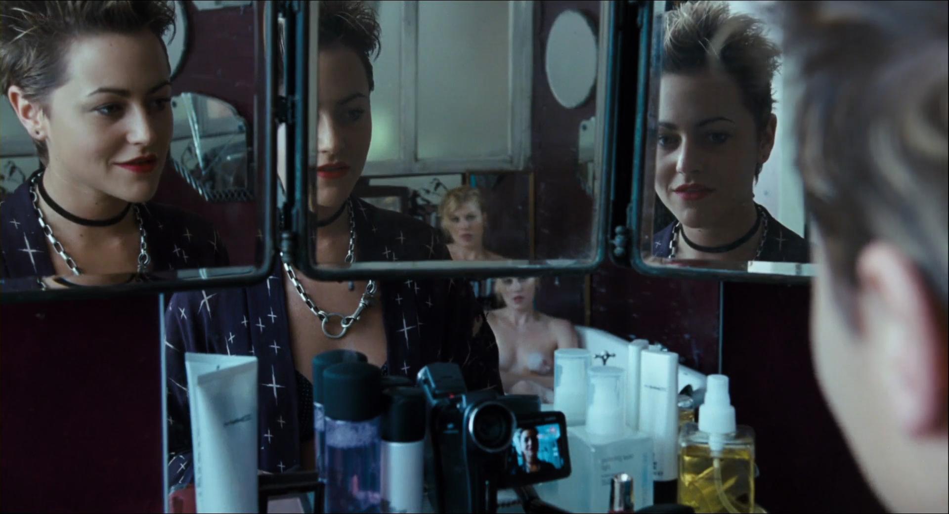 Heather Graham nude lesbian sex Jaime Winstone, Meredith Ostrom nude – Boogie Woogie (2009) HD 1080p (20)