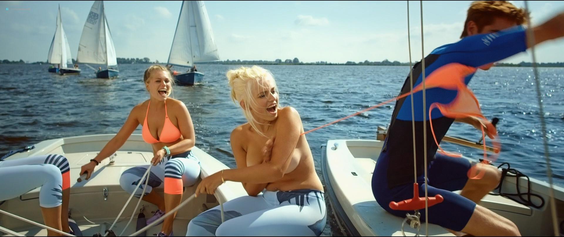 Holly Mae Brood hot and sexy Carolien Spoor, Marly van der Velden nude sex - Sneekweek (NL-2016) HD 1080p BluRay (2)