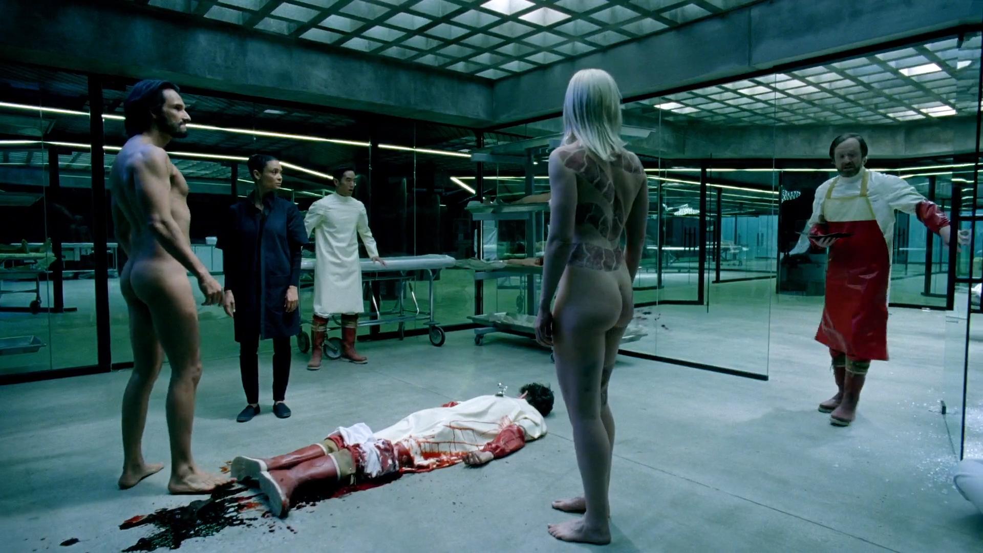 Ingrid Bolsø Berdal nude full frontal - Westworld (2016) s1e10 HD 1080p (9)