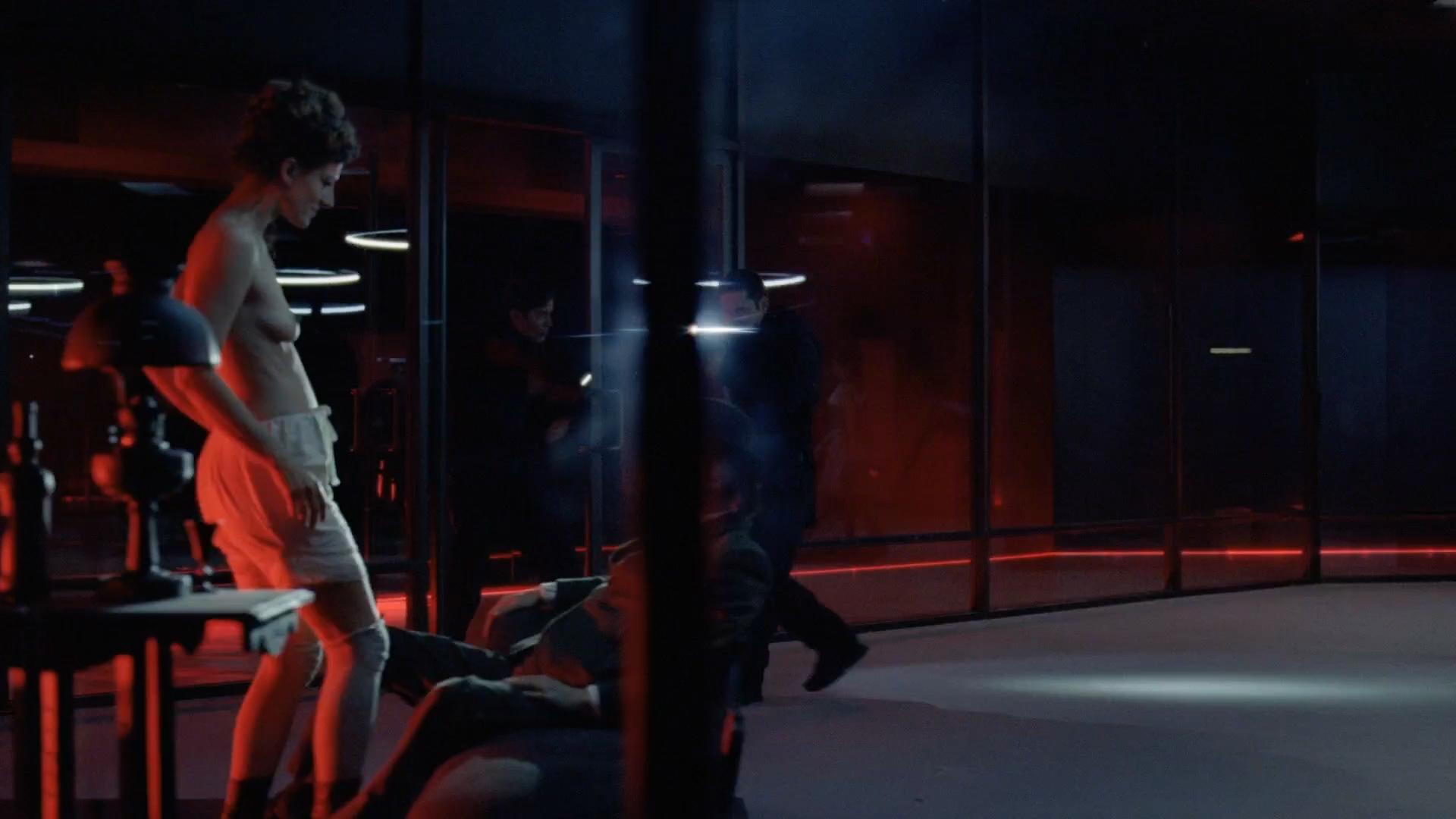 Ingrid Bolsø Berdal nude full frontal - Westworld (2016) s1e10 HD 1080p (8)