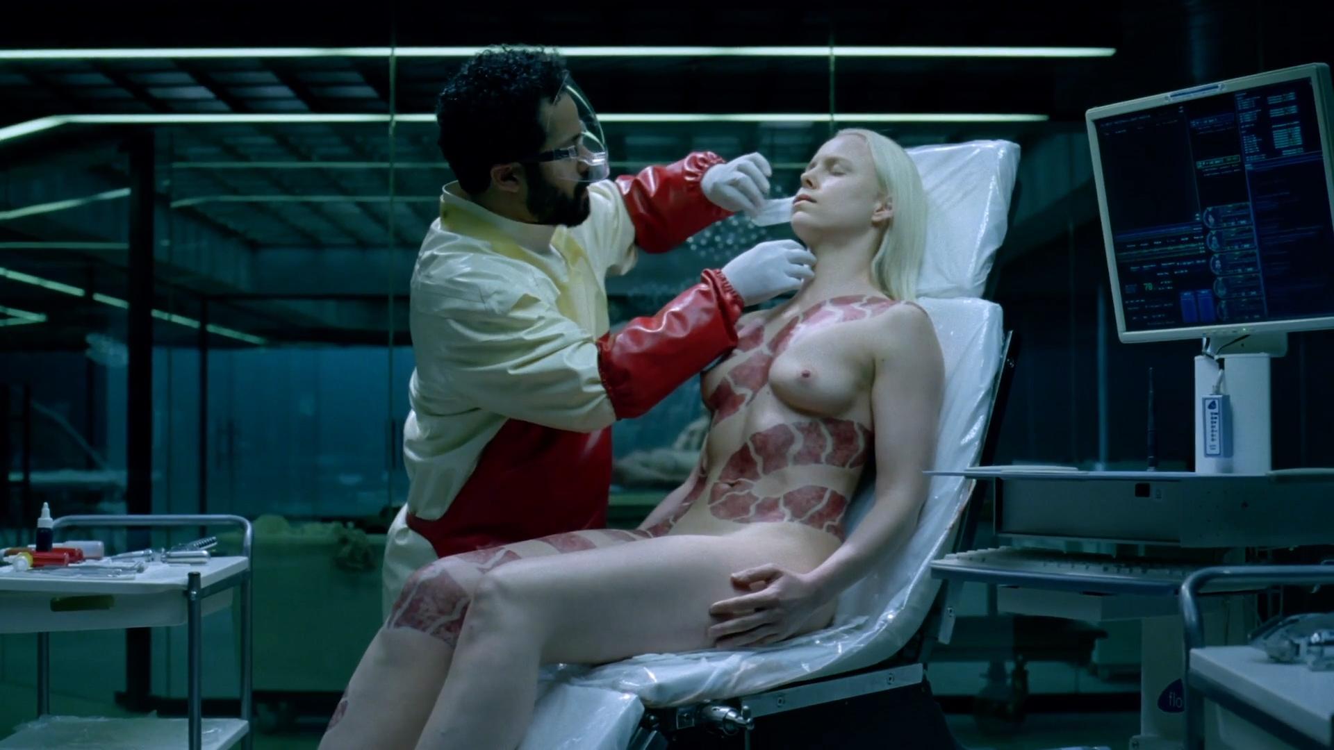 Ingrid Bolsø Berdal nude full frontal - Westworld (2016) s1e10 HD 1080p (4)
