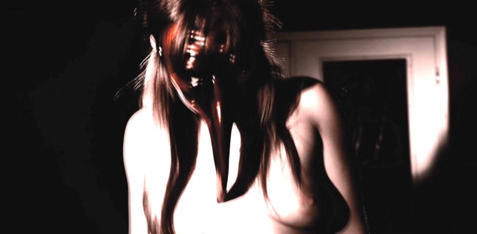 Jenniffer Marie nude butt topless and sex - Krampus The Devil Returns (2016) HD 1080p BluRay (5)