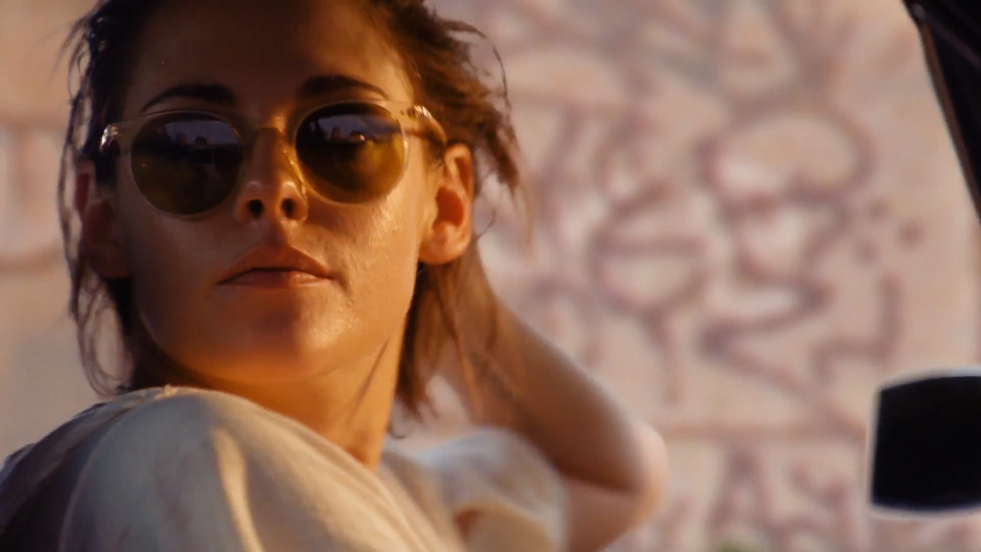 Kristen Stewart hot sexy nipple slip - The Rolling Stones - Ride 'Em On Down (1)