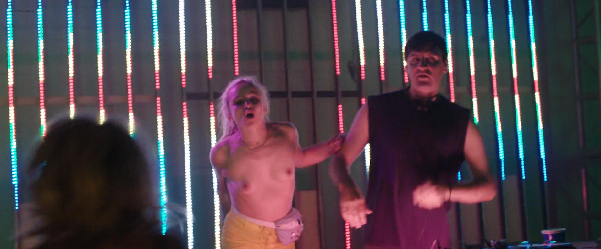 Morgan Saylor nude topless explicit blow job and India Menuez nude - White Girl (2016) HD 1080p (3)