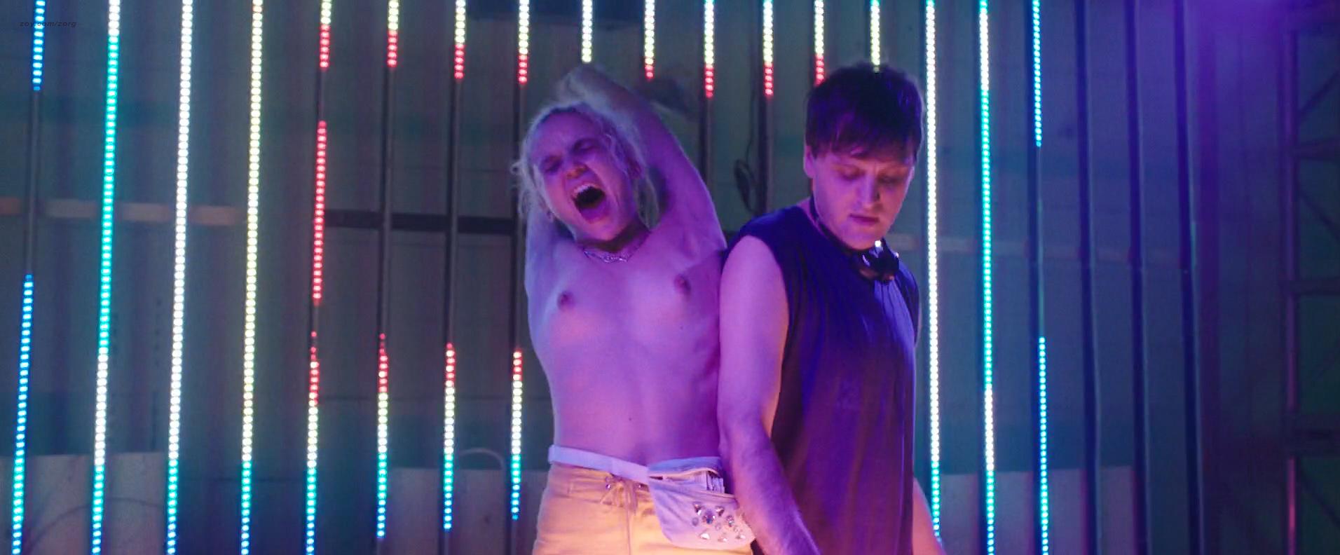 Morgan Saylor nude topless explicit blow job and India Menuez nude - White Girl (2016) HD 1080p (2)