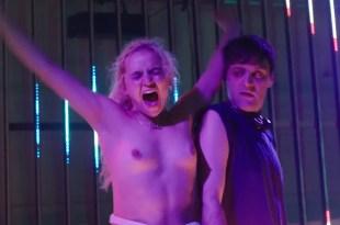 Morgan Saylor nude topless explicit blow job and India Menuez nude – White Girl (2016) HD 1080p