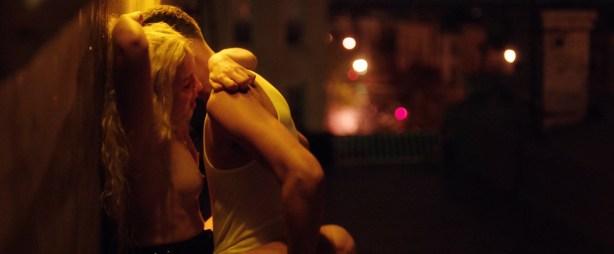 Morgan Saylor nude topless explicit blow job and India Menuez nude - White Girl (2016) HD 1080p (12)