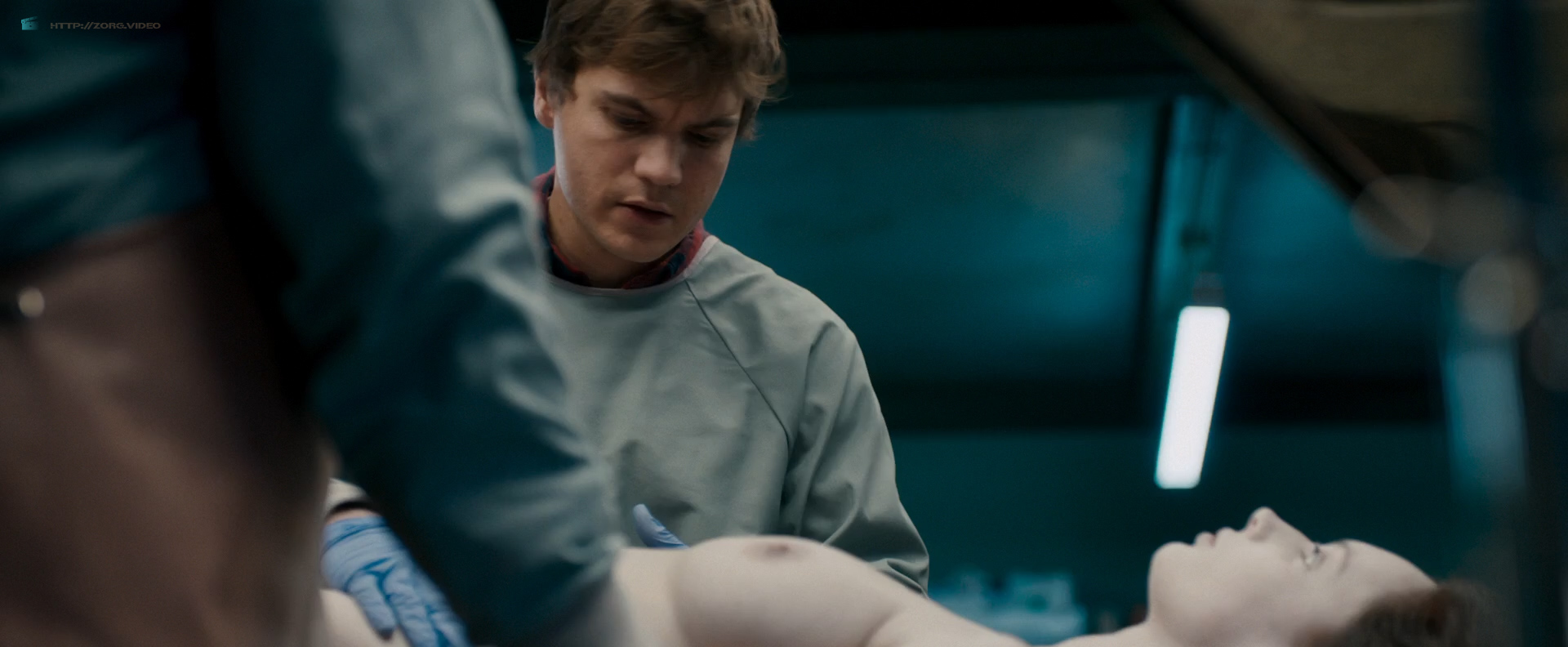 Olwen Catherine Kelly nude bush and boobs - The Autopsy of Jane Doe (2016) HD 1080p WebDl (11)