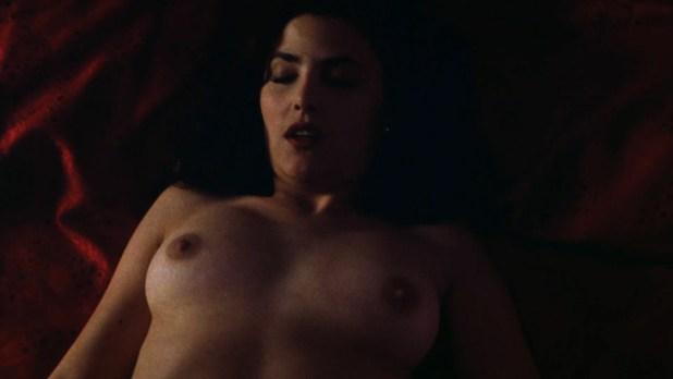 Sherilyn Fenn nude topless and sex Charlie Spradling nude busty - Meridian (1990) hd 1080P BluRay (8)