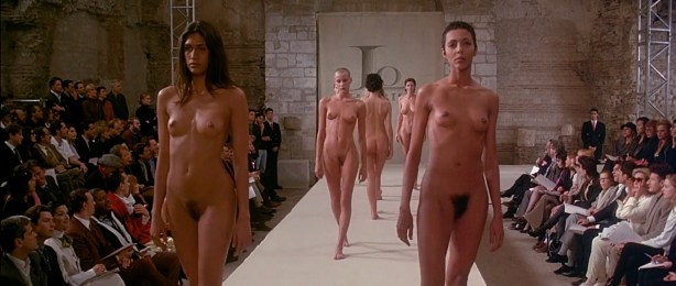 Ute Lemper nude bush Ève Salvail nude full frontal other's nude too - Pret a Porter (1994) HD 1080p (4)