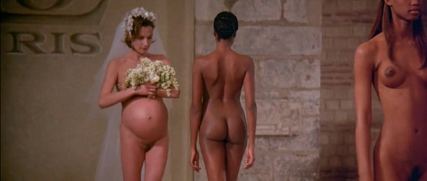Ute Lemper nude bush Ève Salvail nude full frontal other's nude too - Pret a Porter (1994) HD 1080p (15)