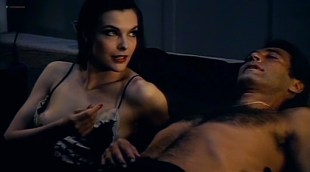 Carole Bouquet hot nip slip and Janet Agren sexy - Mystere (IT-1983)