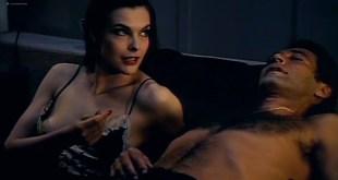 Carole Bouquet hot nip slip and Janet Agren sexy - Mystere (IT-1983) (2)