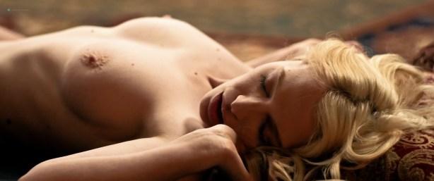 Chloe Farnworth nude topless lesbian sex with Lauryn Nicole Hamilton - Ava's Impossible Things (2016) HD 1080p WebDL (9)