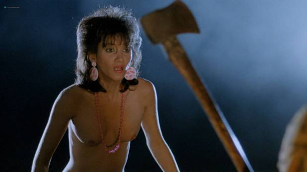 Cynthia Baker nude Tanya Papanicolas and others nude too - Blood Diner (1987) HD 1080p BluRay (4)