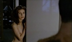Fanny Bastien nude topless and cute Marisa Berenson and Agnes Garreau nude topless- La tete dans le sac (FR-1983) VHS (10)
