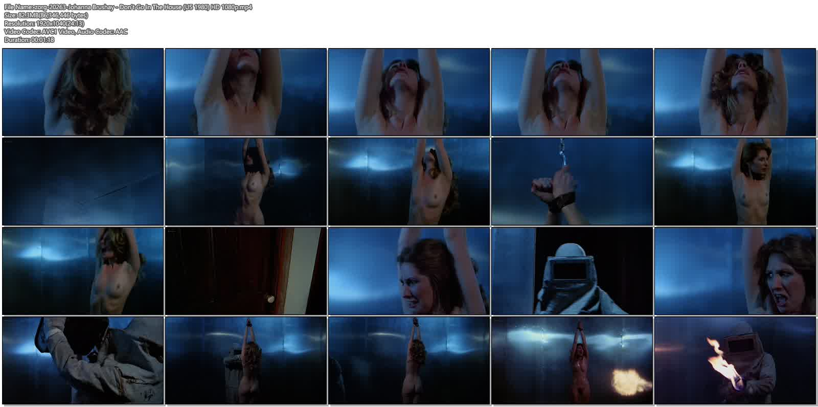 Johanna Brushay nude full frontal - Don't Go In The House (US 1980) HD 1080p (6)