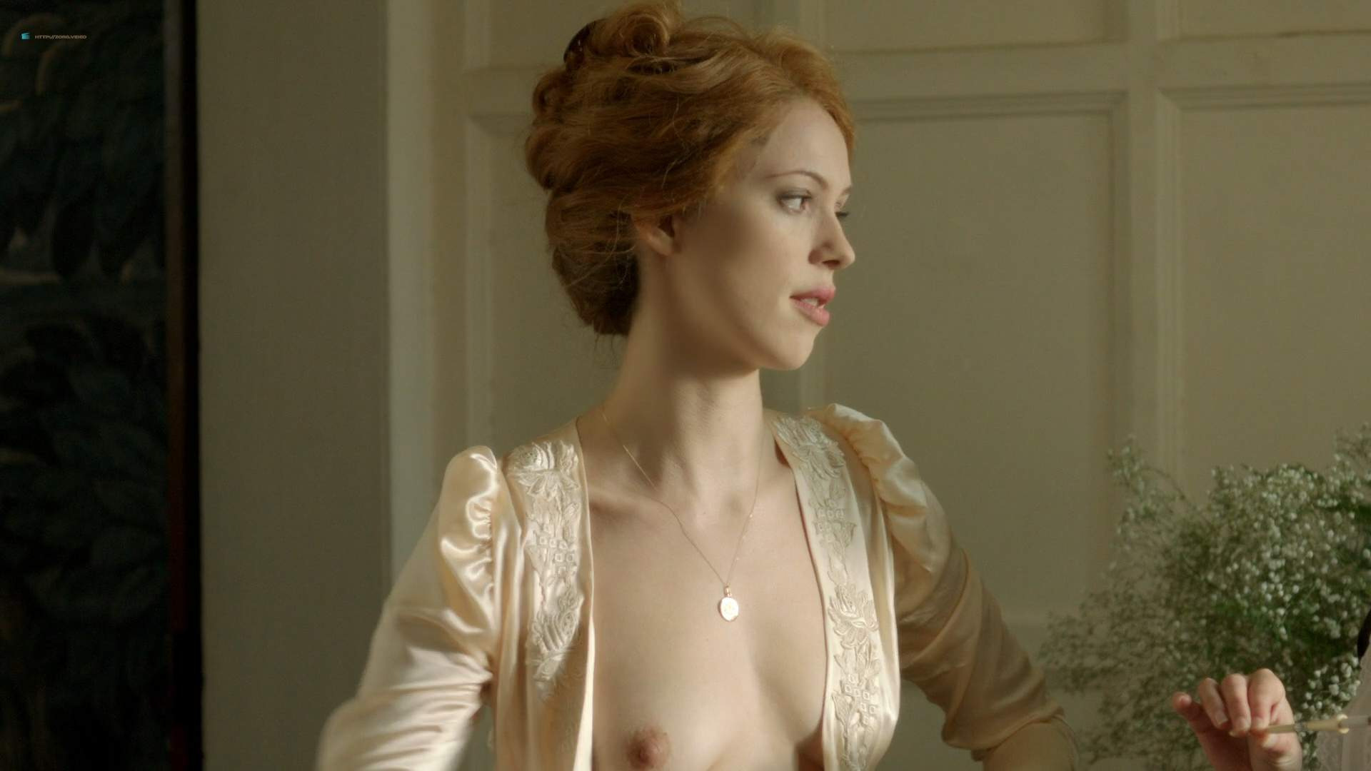 Adiland Porn Pics rebecca hall nude topless and adelaide clemens nude butt