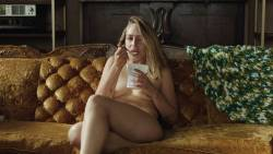 Jemima Kirke nude full frontal and Lena Dunham nude bush - Girls (2017) s6e1 HD 1080p (10)