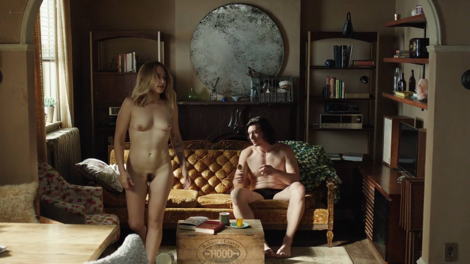 Jemima Kirke Nude Full Frontal And Lena Dunham Nude Bush - Girls 2017 -9126