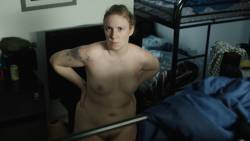 Jemima Kirke nude full frontal and Lena Dunham nude bush - Girls (2017) s6e1 HD 1080p (13)