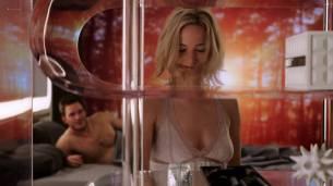 Jennifer Lawrence hot, sexy, wet and some sex - Passengers (2016) HC.HDRip 1080p (4)