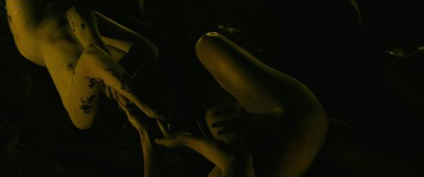 Julie Marie Parmentier nude Roxane Durane nude wet - Evolution (FR-2016) HD 1080p BluRay (5)