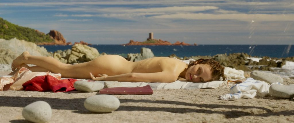 Natalie Portman nude butt - Planetarium (2016) HD 1080p BluRay (4)