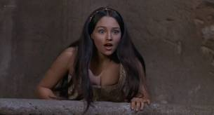 Olivia Hussey nude topless - Romeo and Juliet (1968) HD 1080p BluRay (5)