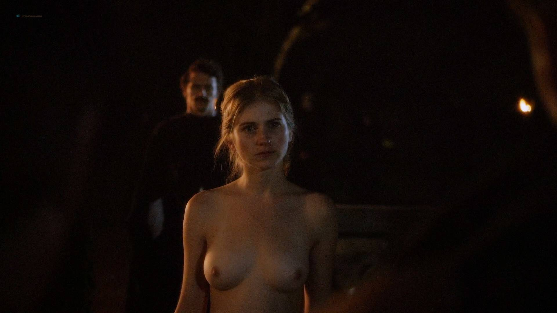 Allie Gallerani nude full frontal Amber Coney, Zoe Bleu, and other's nude too - The Institute (2017) HD 1080p Web (16)