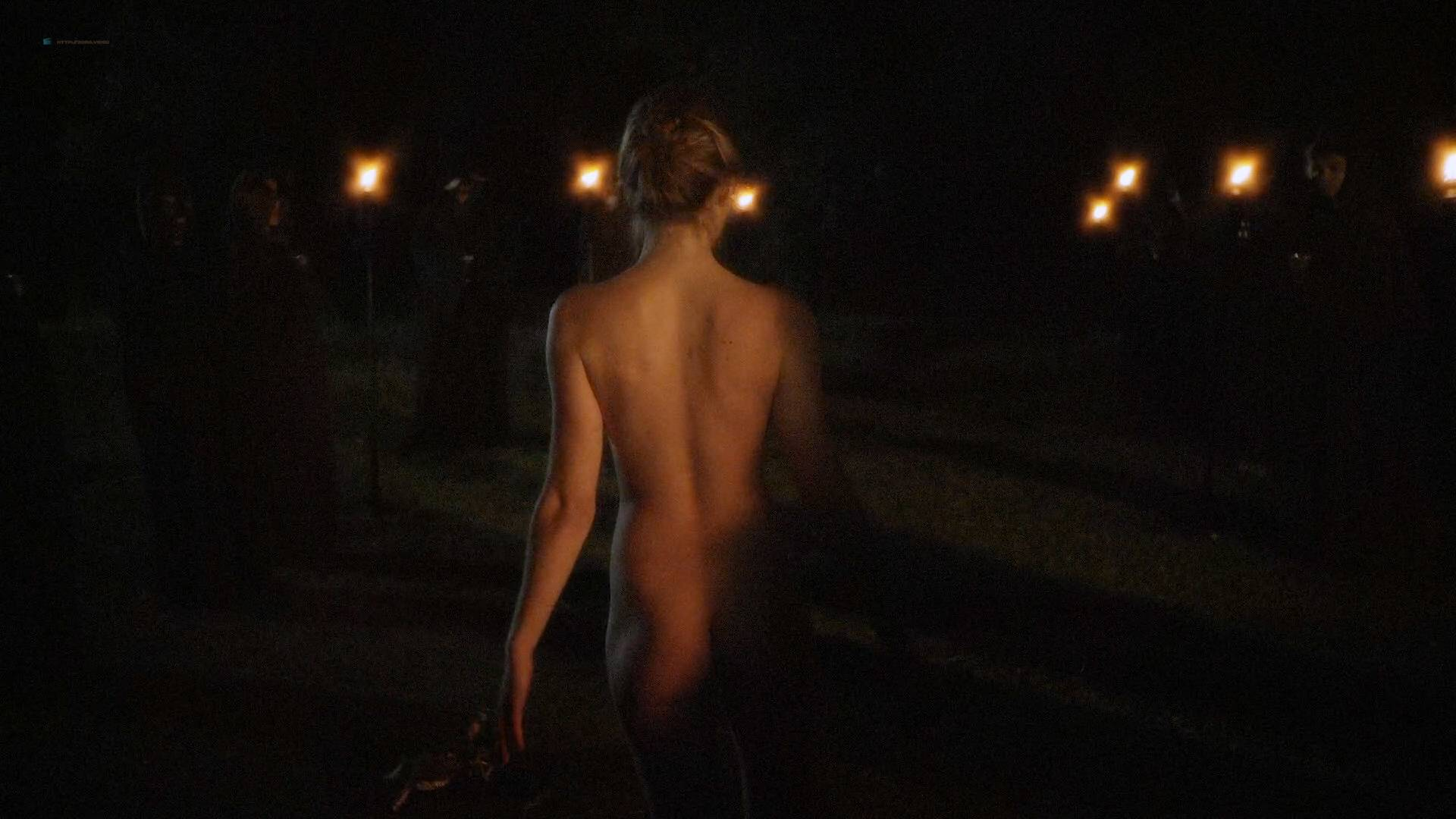 Allie Gallerani nude full frontal Amber Coney, Zoe Bleu, and other's nude too - The Institute (2017) HD 1080p Web (15)