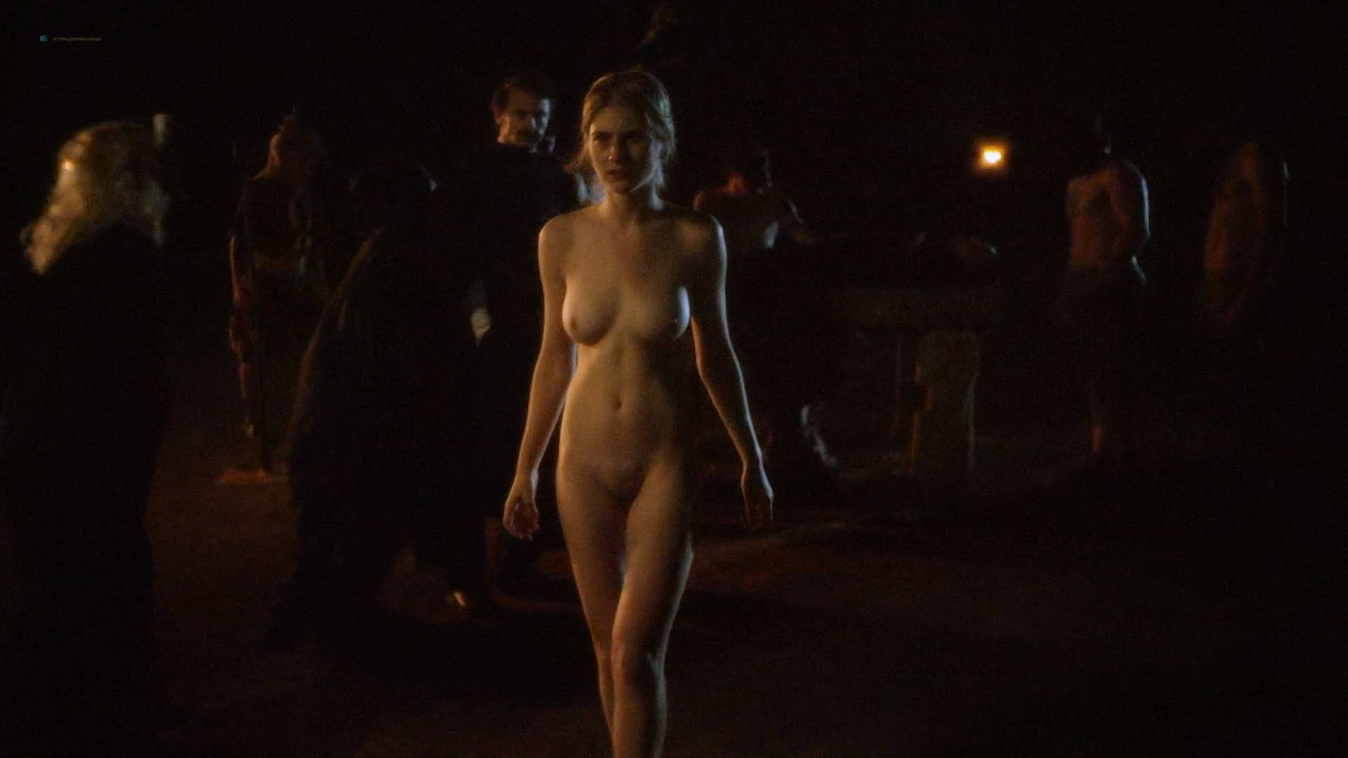 Allie Gallerani nude full frontal Amber Coney, Zoe Bleu, and other's nude too - The Institute (2017) HD 1080p Web (13)